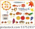 秋季味道季節性食物集 53752937