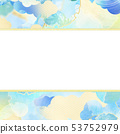 背景 - 日本 - 日本風格 - 日本模式 - 日本紙 - 夏天 - 框架 - 淺藍色 53752979