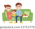 가족 단란 53753776