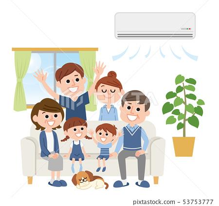 三代家庭空調 53753777