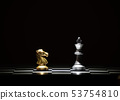 chess board game for competition and strategy 53754810