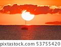 เกาะที่ลอยอยู่ในอากาศในวันแรกและเรือยอชท์และภาพลวงตา 53755420