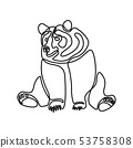 동물, 곰, 그리다 53758308