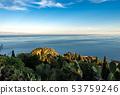 Mediterranean sea - Taormina Sicily Italy 53759246