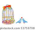鸟笼和小鸟2 53759708