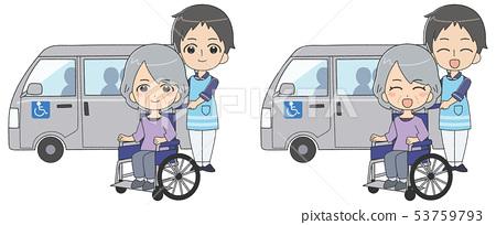 남자 간병인 수석 여성 53759793