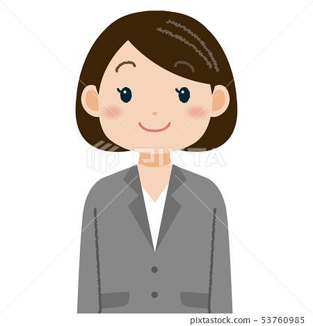女企業家西裝的女人 53760985