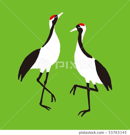 Bird crane vine 53763145