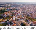 Aerial view of Santarem, Portugal 53766485