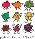 vector set of fruits 53767521