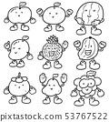 vector set of fruits 53767522