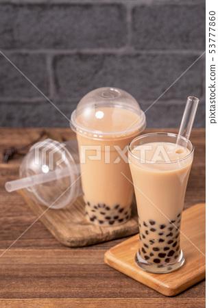 台灣小茶波霸奶茶木薯粉木薯奶茶吸管 53777860