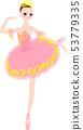 발레 발레리나 의상 핑크 53779335