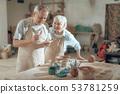 clay, senior, workshop 53781259
