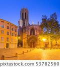 Aix Cathedral in Aix-en-Provence, France 53782560