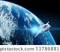 지구와 비행 셔틀 53786881