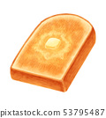 Toast butter thick cut mountain type 53795487