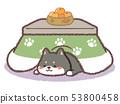 검은 시바 코타츠 53800458