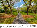 Bandstand in Singapore Botanic Gardens 53801291