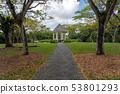 Bandstand in Singapore Botanic Gardens 53801293