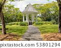 Bandstand in Singapore Botanic Gardens 53801294