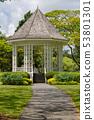 Bandstand in Singapore Botanic Gardens 53801301
