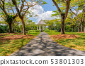 Bandstand in Singapore Botanic Gardens 53801303