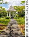 Bandstand in Singapore Botanic Gardens 53801305