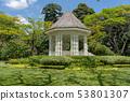 Bandstand in Singapore Botanic Gardens 53801307