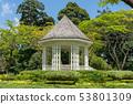 Bandstand in Singapore Botanic Gardens 53801309