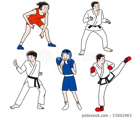 奧運武術和武術比賽 53802963