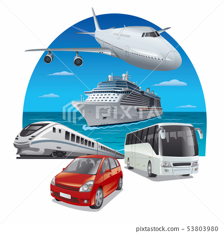 travel and journey transport 53803980