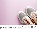 White women's sneakers 53806844