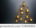 Christmas tree of balls 53806865