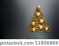 Christmas tree of balls 53806866