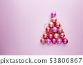 Christmas tree of balls 53806867