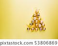 Christmas tree of balls 53806869