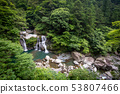 Tokushima Nagacho Oiso Waterfall July 2017 53807466