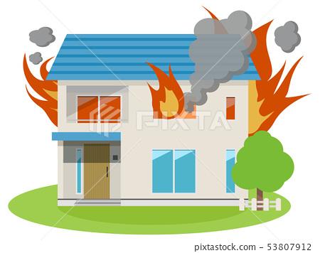 주택 (화재 피해) 53807912
