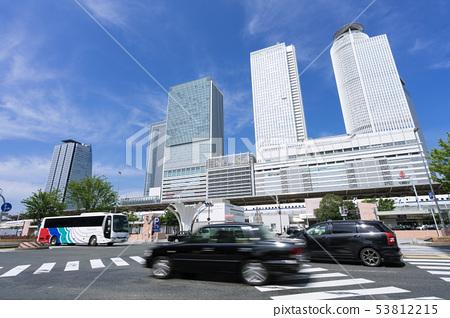 名古屋站回到柏市北路口和車站大樓 53812215