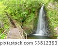 น้ำตกอุตสึสิบสี่แปดน้ำตกทัตสึมิกุจิและทางเดินเล่น 53812393