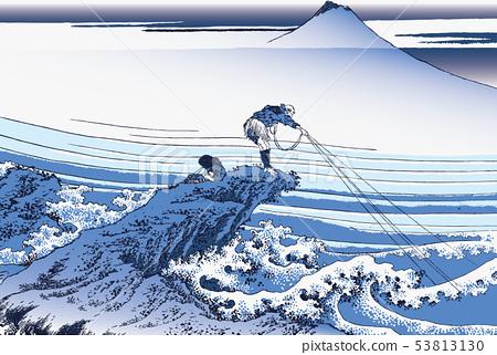 Katsushika Hokusai Image Koshu Ishimurazawa 53813130
