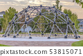 Dome climbing frame in Daybreak Utah neighborhood 53815071