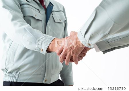 握手 53816750