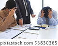 Blaming business concept, Senior executive manager 53830365