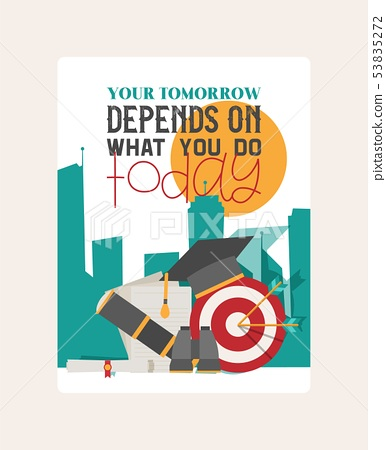 Depends Wthat You Do Banner Vector Stock Illustration 53835272 Pixta