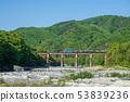 從下游的秩父荒川秩父鐵路鐵橋 53839236