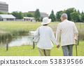 資深夫婦旅行夫婦圖像 53839566