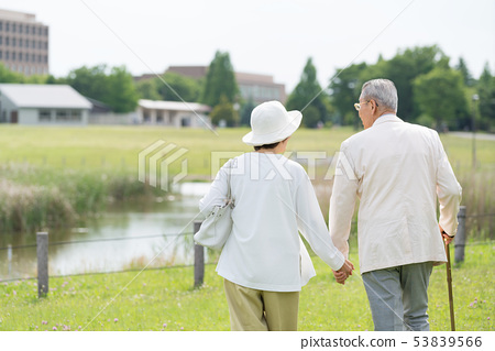 Senior couple travel couple image 53839566