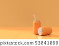 Orange soda can 53841899